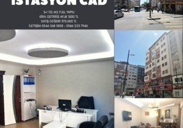 İSTASYON CADDESİNDE SATILIK 3+1 135 M2